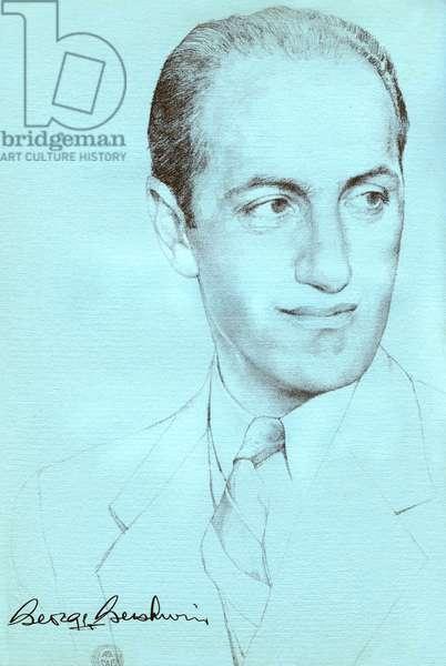 George Gershwin 's self-portrait