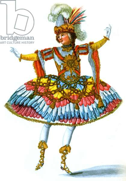 18th century balletdancers in