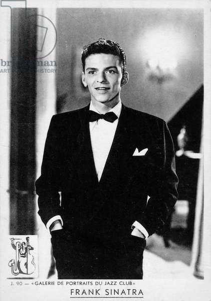 Frank Sinatra portrait American