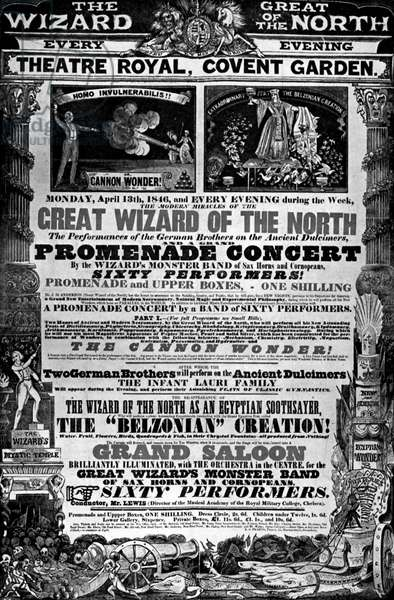 Programme for a Promenade Concert, 1846