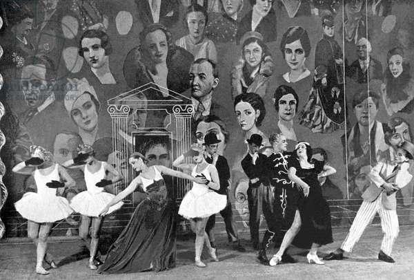 Kjeld Abell 's  La Veuve dans le Miroir