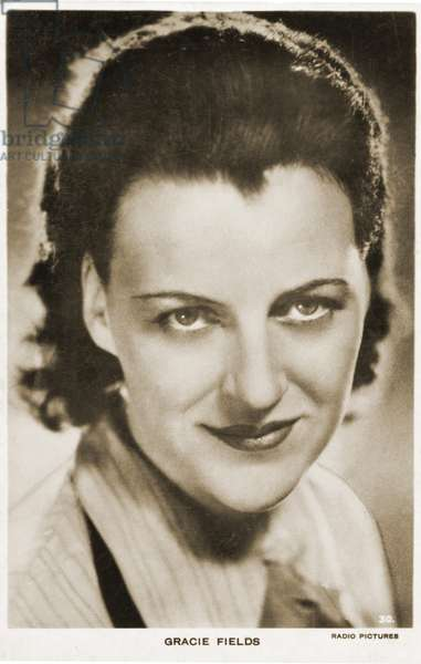 Gracie Fields Portrait English