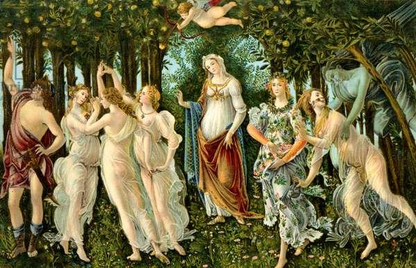 Sandro Botticelli -  'Primavera'