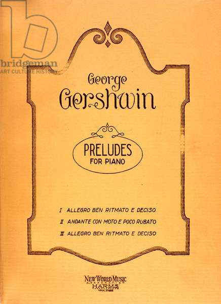 GERSHWIN - PRELUDES FOR