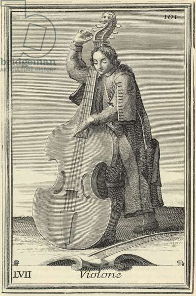 VIOLONE - early double-bass
