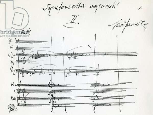 Leos Janacek - Sinfonietta