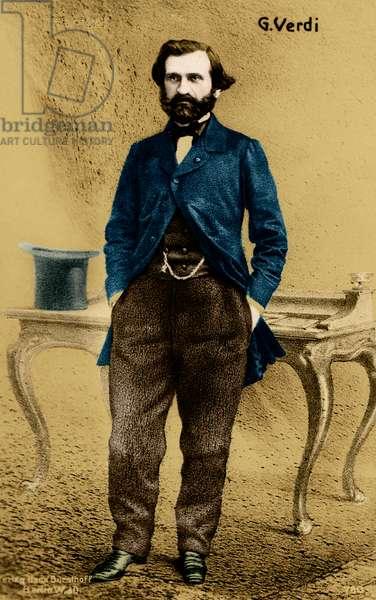 Giuseppe Verdi as a