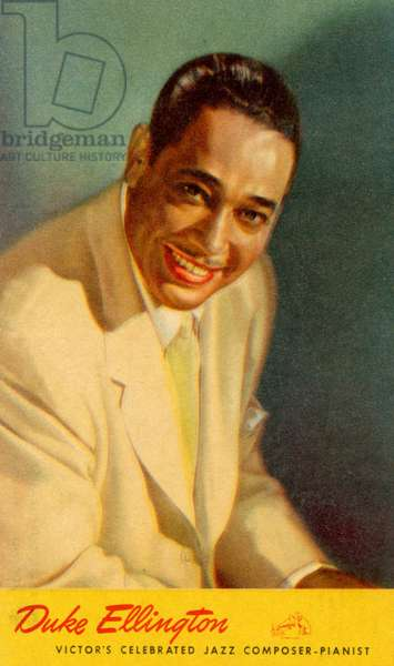 Duke Ellington portrait on
