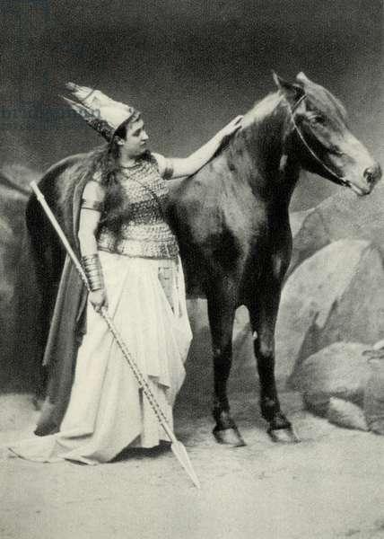 MATERNA Amalie as Brunnhilde
