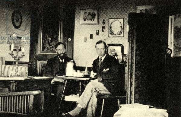 Igor Stravinsky at Morges