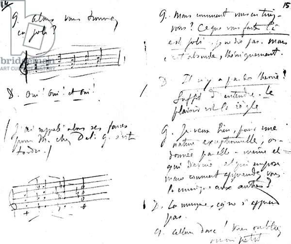 Written conversations - Claude Debussy