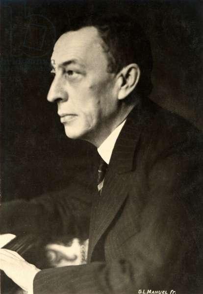 Sergei Rachmaninov portrait