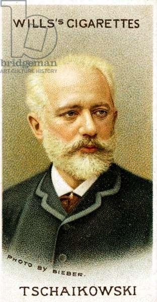 Pyotr Tchaikovsky portrait on