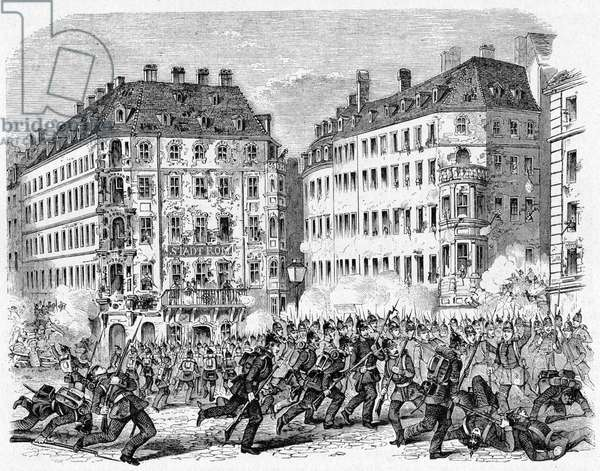 Dresden riots in 1848