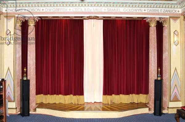 Velvet red  curtains