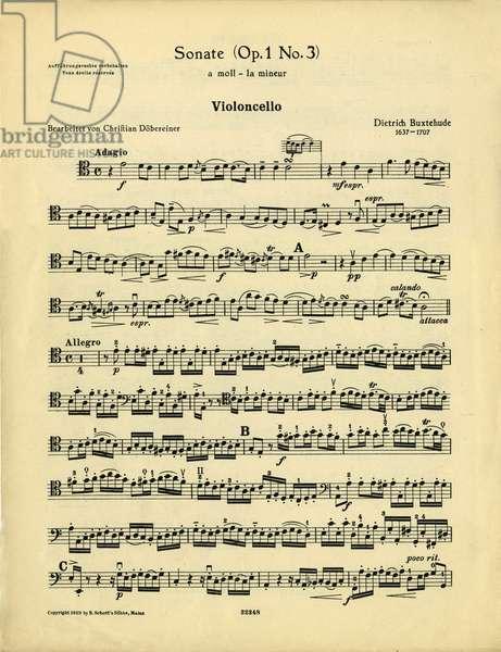 Buxtehude - trio sonata