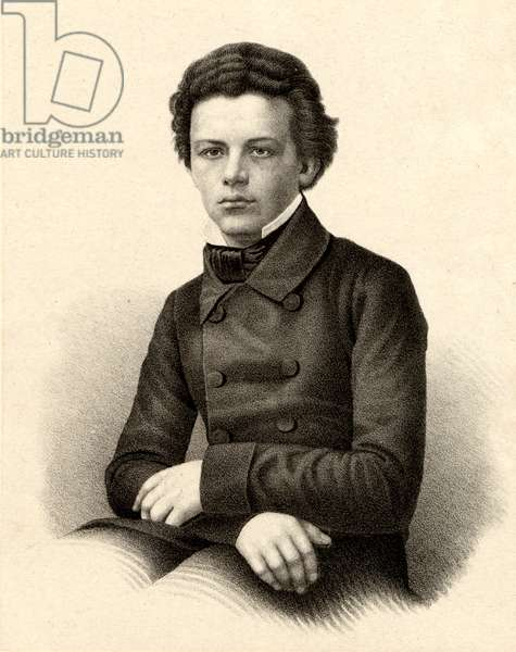 Tchaikovsky as a young