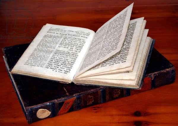 Hebrew religious texts in
