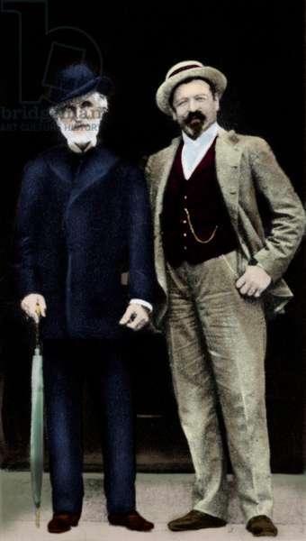 Giuseppe Verdi with Tamagno