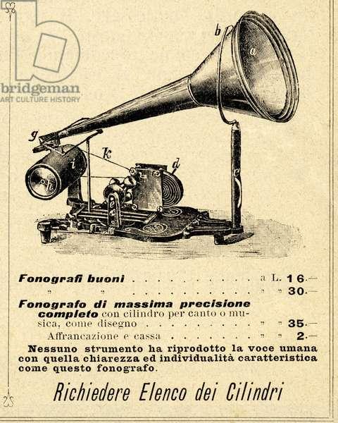 Phonograph or Fonograf /