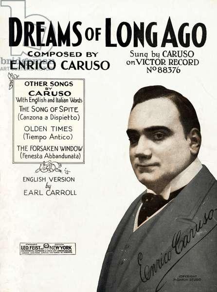 CARUSO Enrico - publicity
