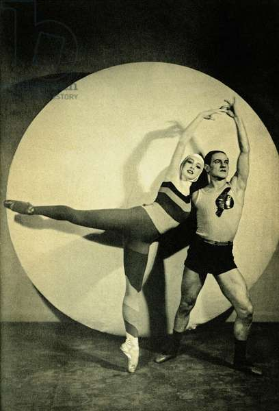 Irina Baronova and León
