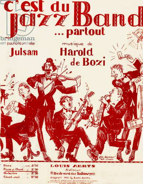 Jazz Band…partout! - score cover