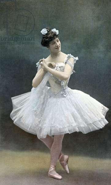Carlotta Zambelli in 'Danses de jadis et de naguère'
