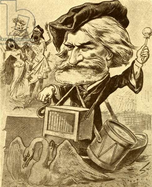 Giuseppe Verdi banging his