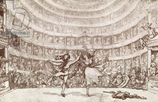 Pantheon Theatre stage with audience