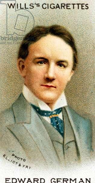 Edward German portrait on