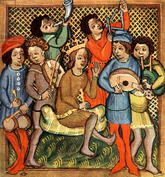 Medieval instruments  from