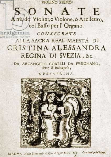Arcangelo Corelli - title
