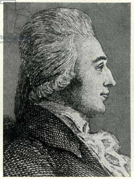 Pavel Vranicky Lithograph Bohemian