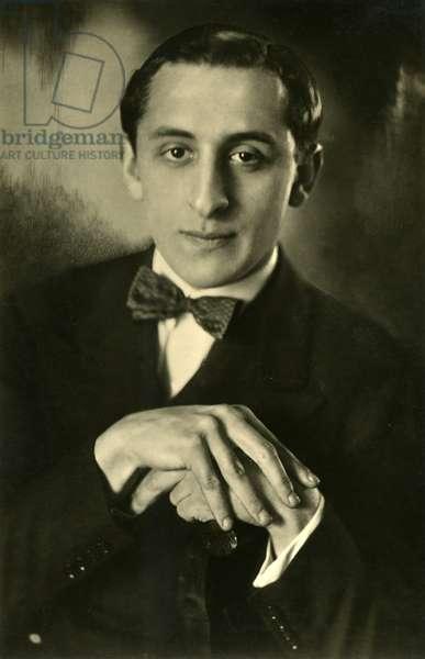 Vladimir Horowitz  portrait