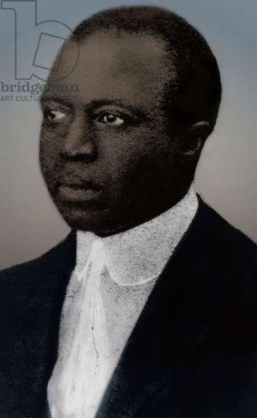 Scott Joplin - portrait