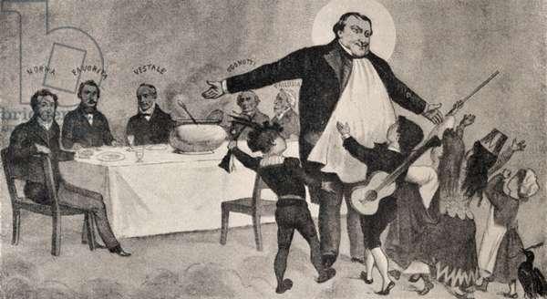 ROSSINI Gioachino - Caricature