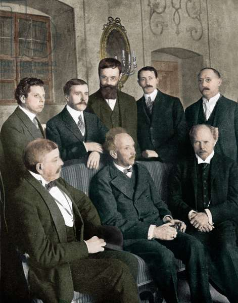 Richard Strauss with Hofmannsthal