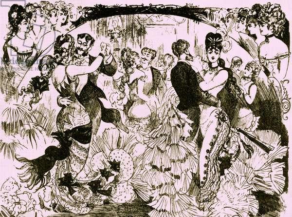 19th century illustration of