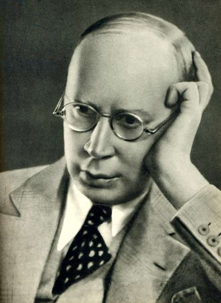 Sergey PROKOFIEV in late 1930s