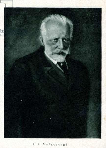 Tchaikovsky in 1893 Taken