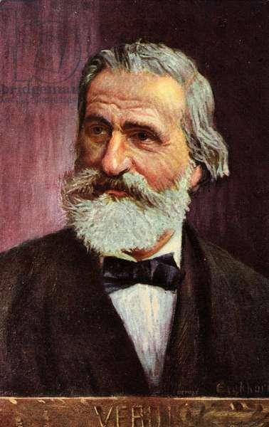 G Verdi portrait Italian