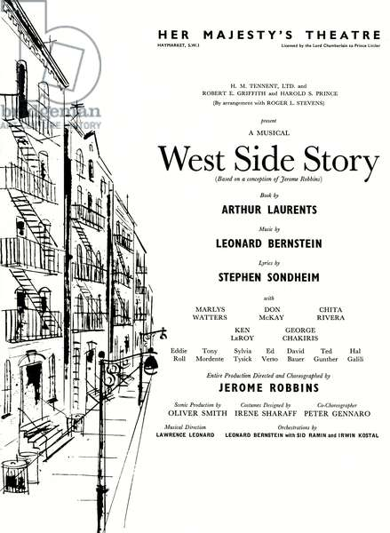 Leonard BERNSTEIN's  West