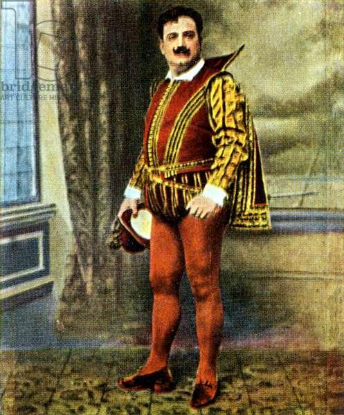 Enrico Caruso in Verdi 's Rigol;etto