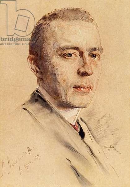 Sergei Vassilievich Rachmaninov portrait