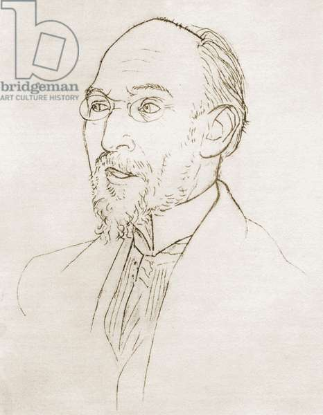 SATIE Erik by Picasso