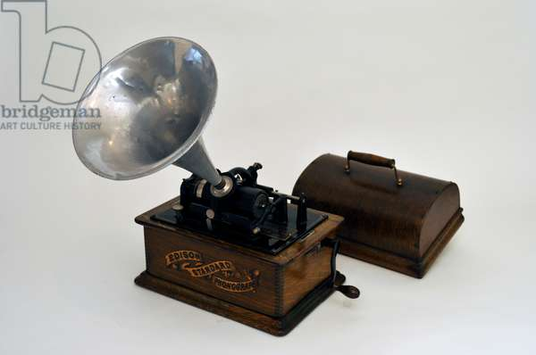 Edison  phonograph The