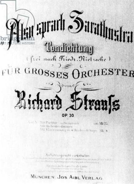 Richard Strauss - title