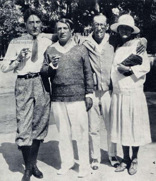 Stravinsky, Cocteau and Picasso