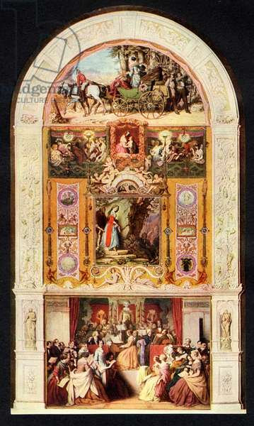 The Symphony 1852 painting